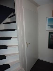 Van open trap naar gesloten trap kast