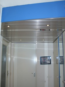 Metalen verlaagd Plafond