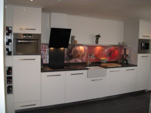 Keuken rechte opstelling
