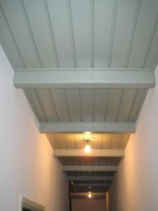 Plafond met Kraalschroot