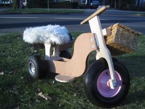 electrische driewieler voor kinderen